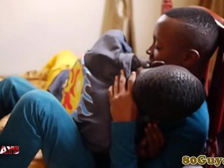 African twinks cocksucking and making out