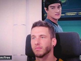 Men.com - (Jordan Boss, Micah Brandt) - Star Trek A Gay Xxx Parody Part 2 - Super Gay Hero