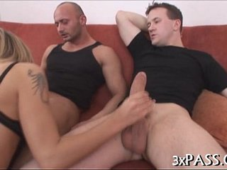 Foursome bi-sexual act