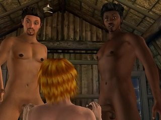 3D Gay Sex Animation : Who's the Boss? (french version)