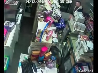 Security camera in store..