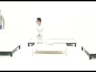 Bedroom anal romance