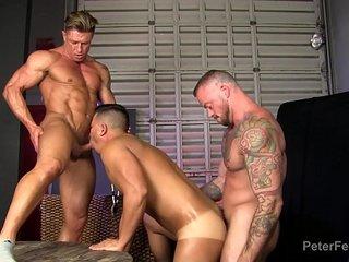 threeway fuckfest from the black panda ep 2 with asian gay pornstar alex chu