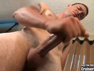 Awkward Gay Boy Jerks Off and Shows Ass
