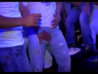 Hard body chaps partying crazy