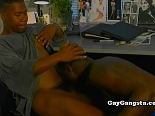 Ebony Gays Awesome Assfuck