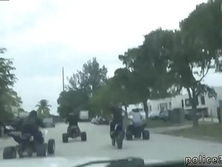 Police hunk video gay Illegal Bike Racers got more than they